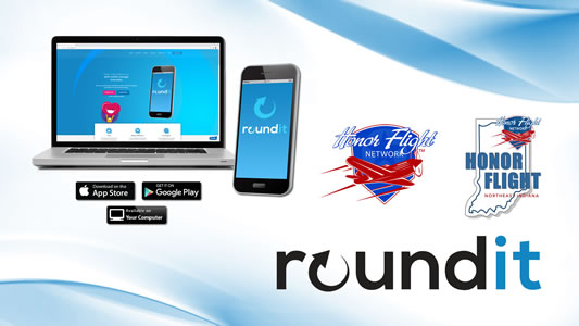 roundit Giving Platform for Honor Flight Northeast Indiana